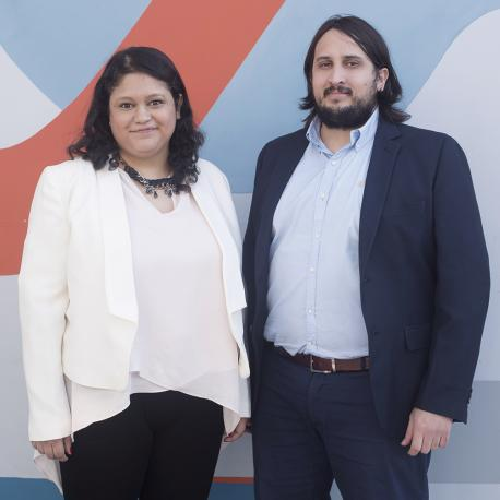 Celeste Medina y Ezequiel González