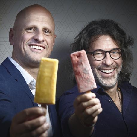 Andrés Gotostiaga y Federico Manzuoli