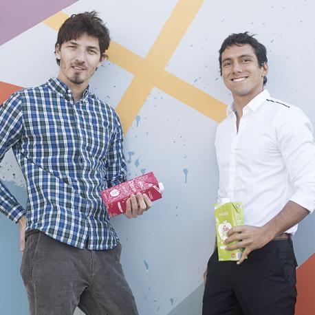 Martín Carro y José Molestina